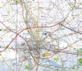 27 - 28 - 36 WWI Ypres Salient Battlefields: Ieper - Passendale - NGI 1:50,000